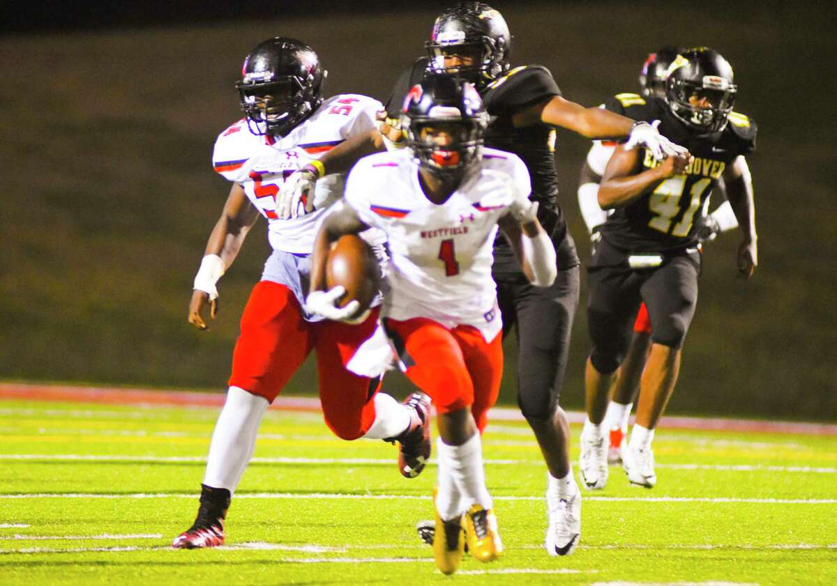 Rayshawn James was the only ball carrier outside of Edwin Allen to produce a rushing touchdown for the Mustangs.