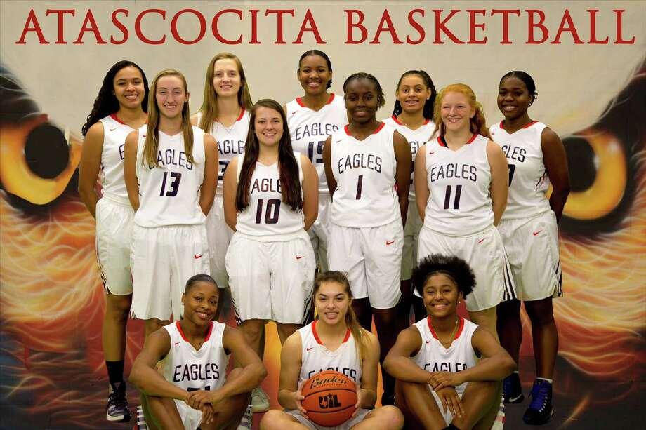 The 2017-2018 Atascocita High School varsity girls basketball team Photo: Veronica Johnson