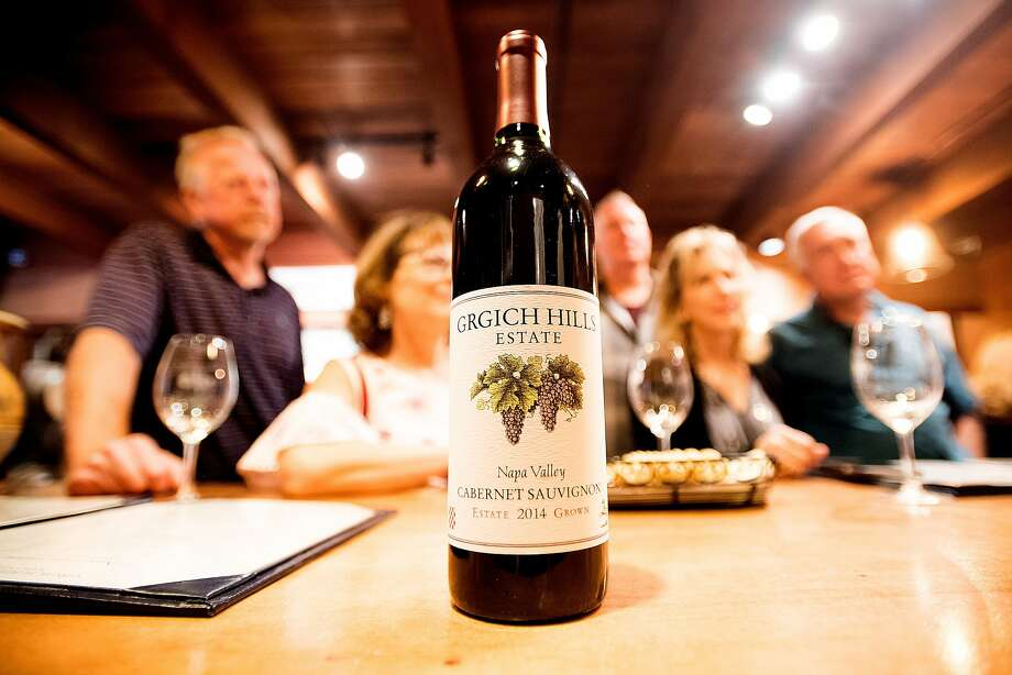 A Cabernet Sauvignon is one of the vegan wines produced at Grgich Hills Estate. Photo: Noah Berger, Special To The Chronicle