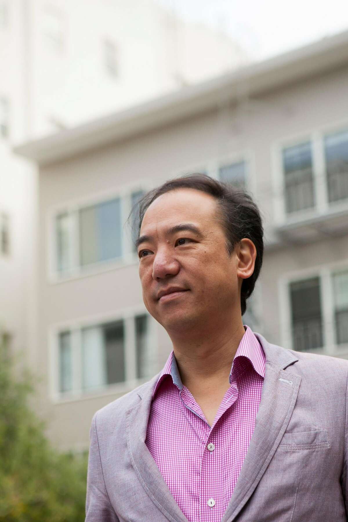 CEO of Veritas Investments Yat-Pang Au poses for a portrait in San Francisco Calif. on Friday, November 3, 2017.