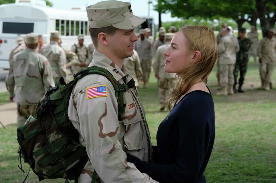 """One of the compelling stories of """"The Long Road Home"""" features Jason Ritter as Capt. Troy Denomy and Kate Bosworth as his wife, Gina. Photo: National Geographic/Van Redin / National Geographic"""