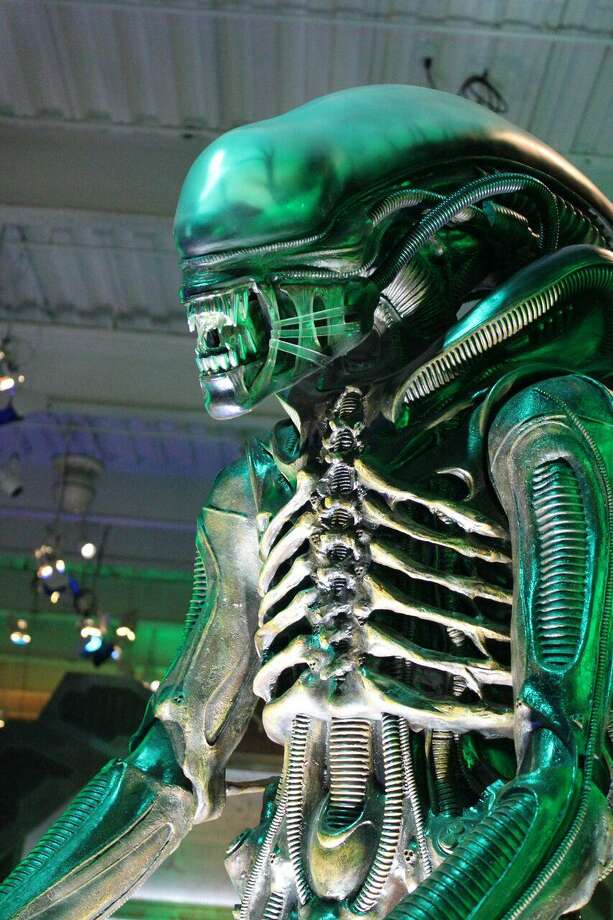 "The Connecticut Science Center's newest traveling exhibit, ""Alien Worlds and Androids,"" will be on view through Jan. 7 in Hartford. Photo: Amanda Spear / Contributed Photo"