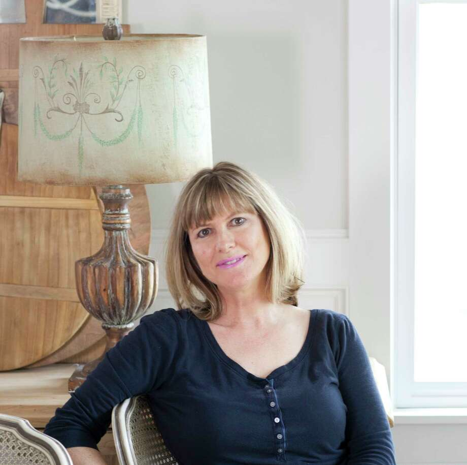 Anita Joyce, Cedar Hill Farmhouse blogger, will have her monogram-inspired rug design manufactured by Annie Selke Companies. Photo: Courtesy Photo