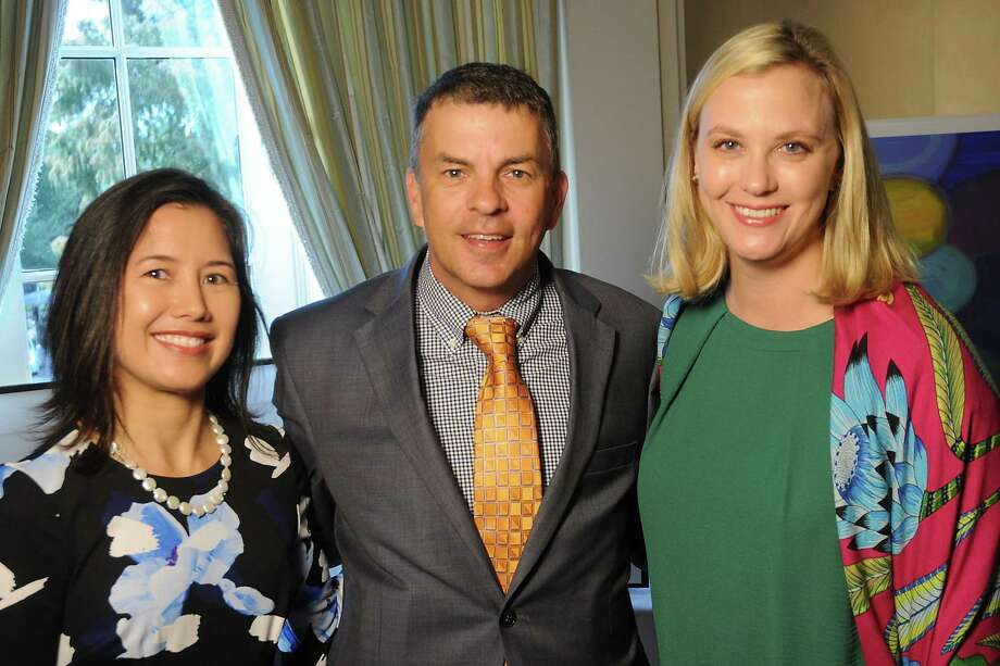 Claudia Gee Vassar, from left, Barry Wood and  Blair Loocke Photo: Dave Rossman, Freelance / Dave Rossman