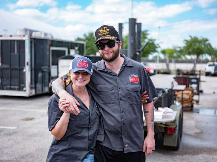 Feges BBQ, from chefs Patrick Feges and Erin Smith, will open early next year in Greenway Plaza.