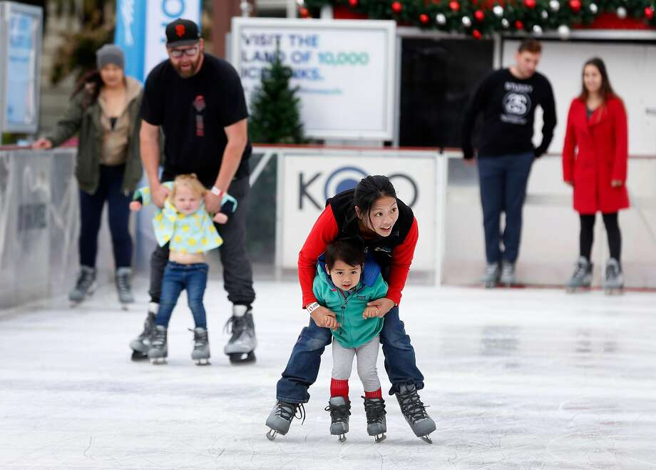 Ongoing: Ice skating in the Bay Area See where to find the Bay Area's outdoor ice skating rinks this season. Photo: Paul Chinn, The Chronicle