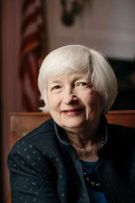 Janet Yellen, chairwoman of the Federal Reserve, in Washington, Oct. 31, 2017. President Donald Trump nominated Jerome Powell to be the new chair, which means that Yellen will be the first person in nearly 40 years to serve no more than a single four-year term as head of the central bank. (Lexey Swall/The New York Times)