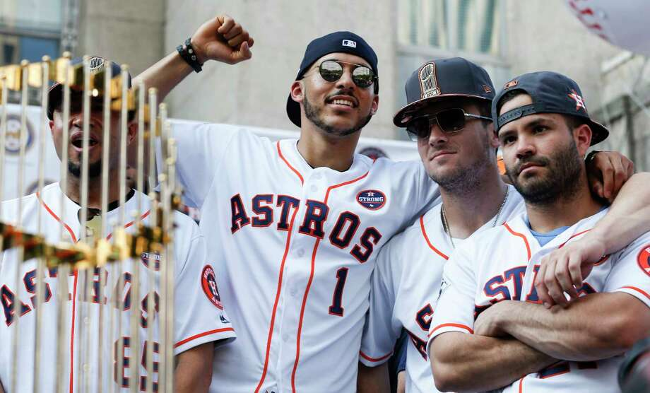 b0e9200cc9d PHOTOS  A look at athletes who have appeared on Saturday Night LiveHouston  Astros shortstop Carlos