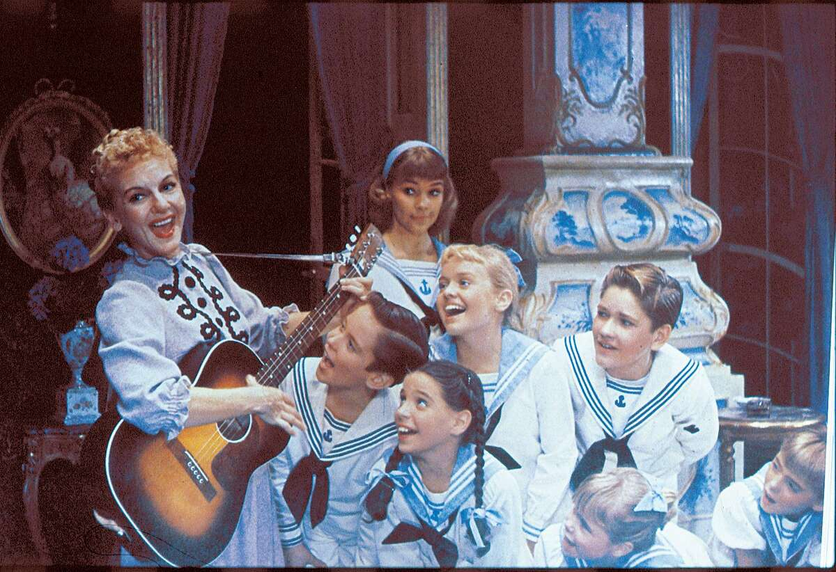 Mary Martin and the children in the original production.