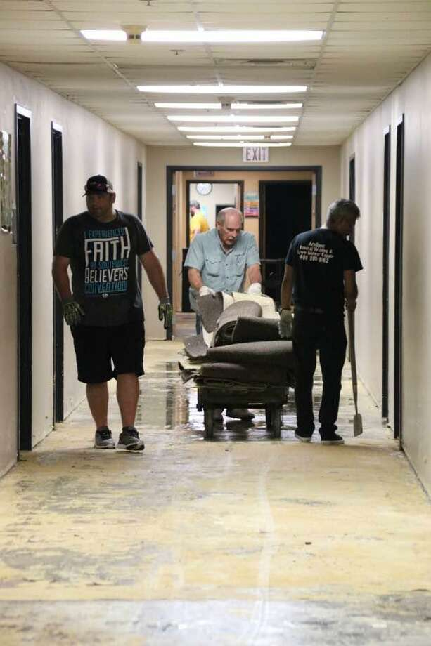The Stephen Siller Tunnel to Towers Foundation has facilitated relief efforts in Orange and Beaumont, Texas since shortly after Hurricane Harvey. The organization will hold a toy drive for the hurricane victims in the Danbury area later this month. Photo: Contributed Photo / Hearst Connecticut Media / The News-Times Contributed