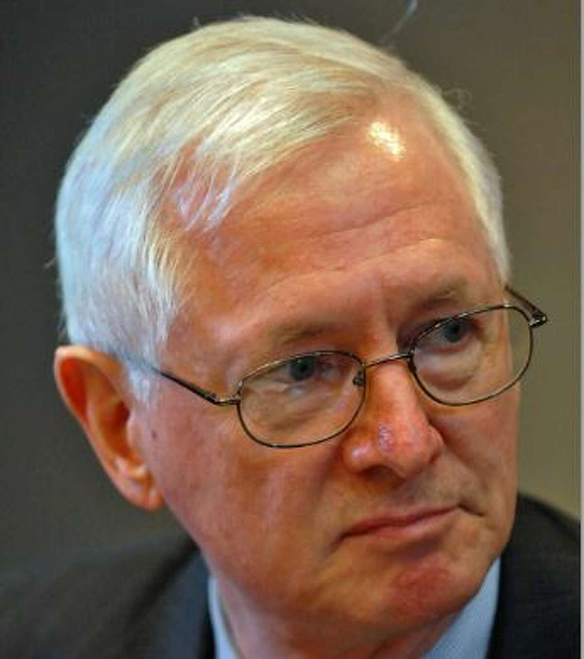 Richard Mills, 14-year commissioner of the state Education Department. (File photo)