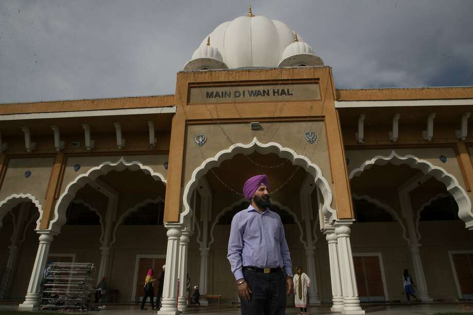 Bhupinder Singh at the Sikh Gurdwara Sahib, a temple in San Jose in October. Photo: Paul Kuroda, Special To The Chronicle