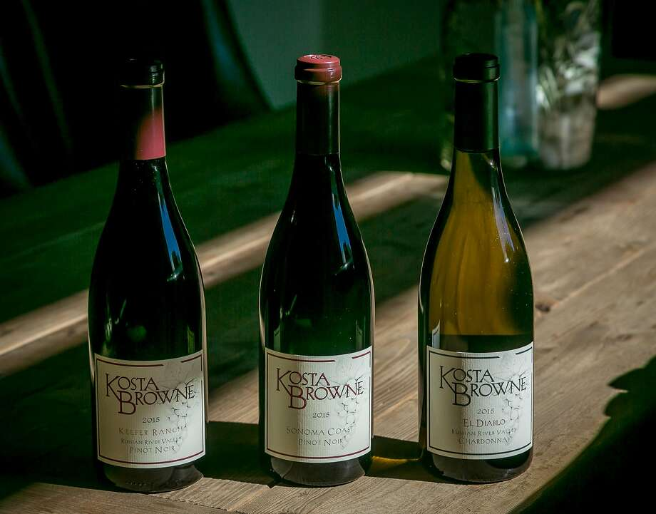 The wines of Kosta Browne Winery in Sebastopol. Photo: John Storey, Special To The Chronicle