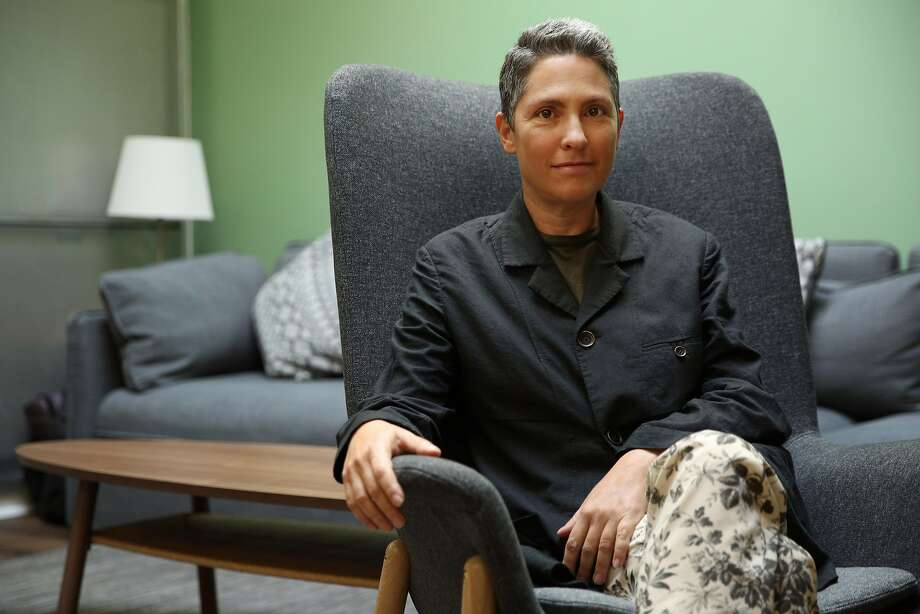 """Jill Soloway at the Yerba Buena Center for the Arts, Saturday, Oct. 28, 2017, in San Francisco, Calif. Soloway is the creator of the television series """"Transparent"""" and """"I Love Dick."""" Photo: Santiago Mejia, The Chronicle"""
