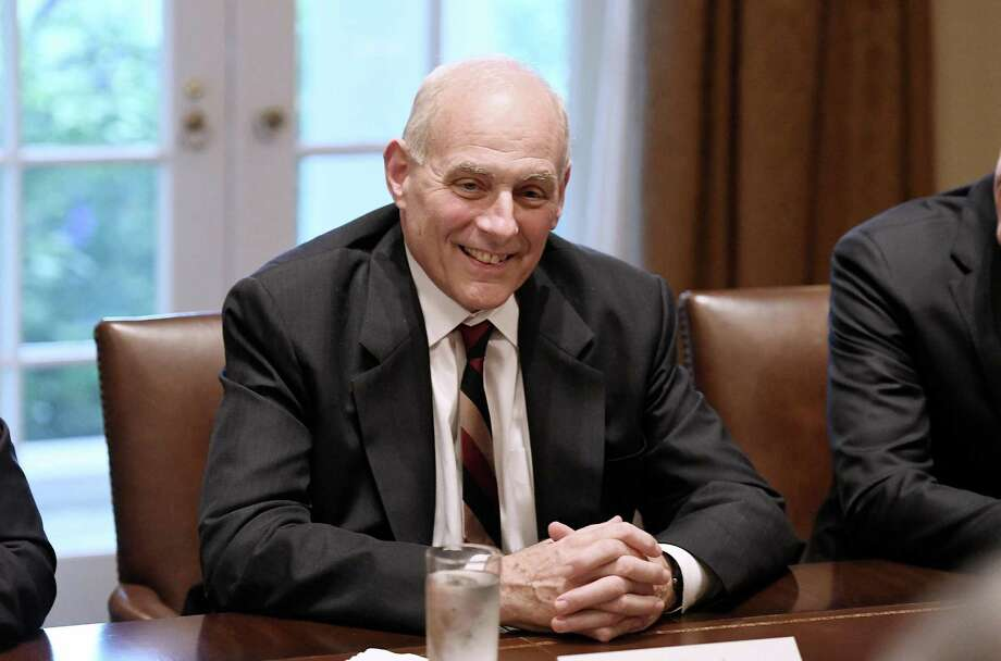 White House chief of staff John Kelly has his Civil War facts wrong. Slavery drove secession, not inability for the nation to compromise. Photo: Olivier Douliery /TNS / Abaca Press
