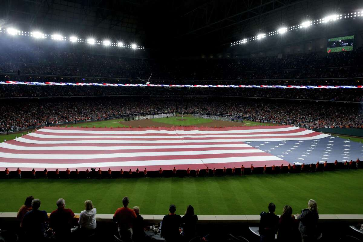 A reader is heartened by the patriotism that was on display during Game 3 of the World Series in Houston.
