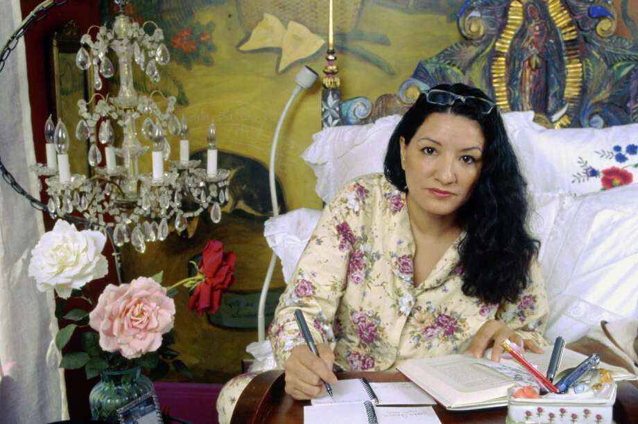 Author Sandra Cisneros, shown here in 2005, has the ability to craft sentences of beauty that transport readers. Photo: Courtesy Photo