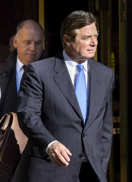 The indictments of Paul Manafort, shown here, and his aide Rick Gates and the plea deal by George Papadopoulos with special prosecutor Robert Mueller are damaging to Trump, but not as damaging so far as what will occur if the president fires Mueller or issues pardons. Photo: Bill O'Leary /The Washington Post / The Washington Post