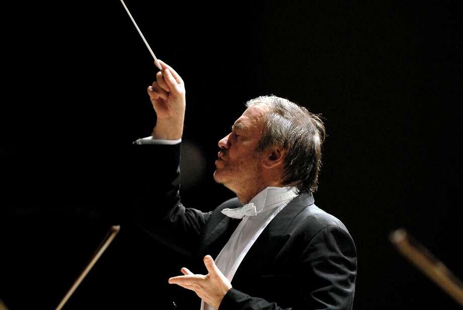 Conductor Valery Gergiev Photo: Alexander Shapunovy