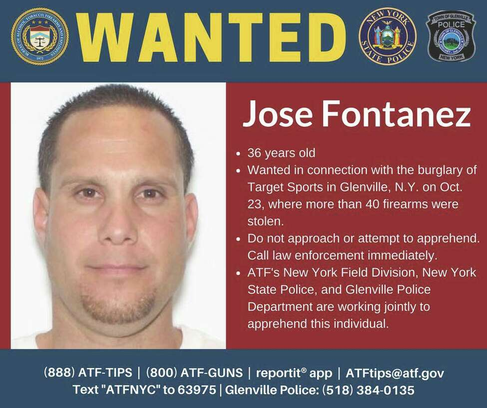 Jose Fontanez was arrested in connection with a Glenville gun shop burglary
