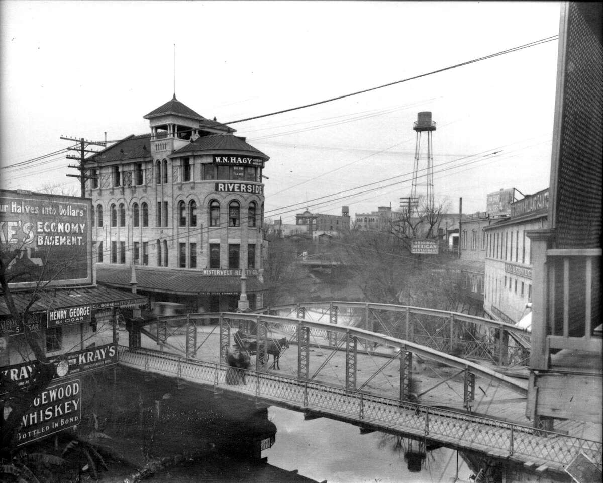 The Clifford Building as it appeared in the late 1890s.