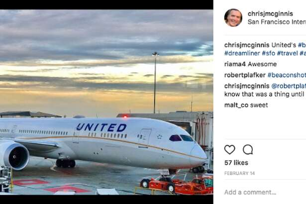 United and SFO both rank third in popularity among Instagram users