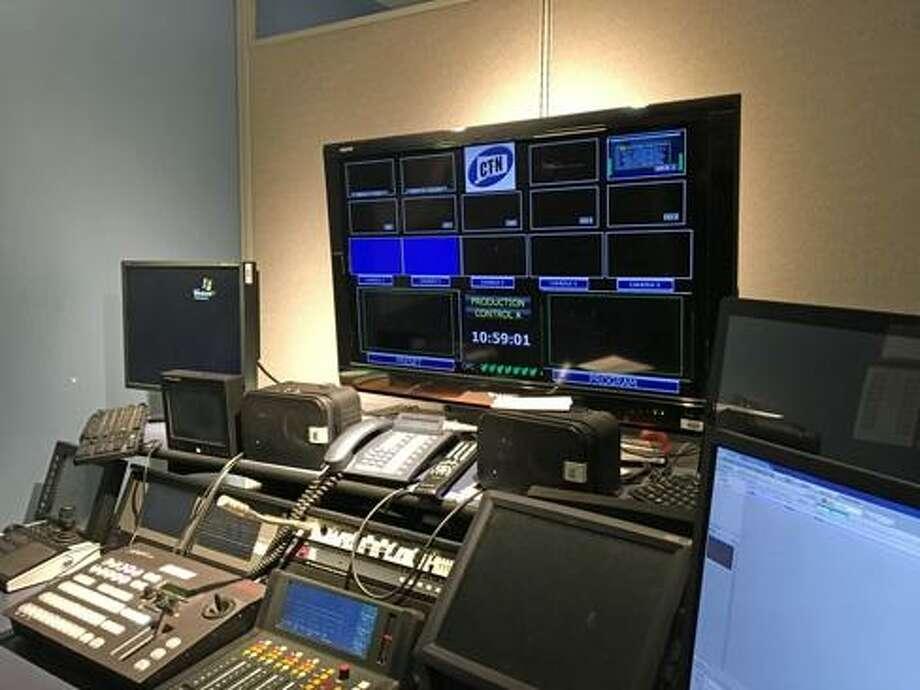 CT-N control room. Photo: Christine Stuart / CTNewsJunkie
