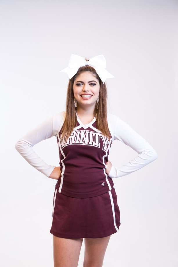Cayley Mandadi, Trinity University cheerleader was killed last September. Her boyfriend has been charged with murder. Photo: /Courtesy Of Trinity University