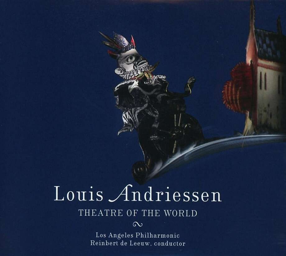 "Louis Andriessen, ""Theatre of the World' Photo: Nonesuch Records"