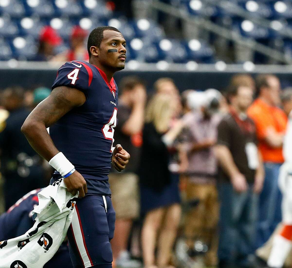 2. A running game that ranks third in the NFL has to overcome the loss of Deshaun Watson, whose 269 yards rushing led all quarterbacks.
