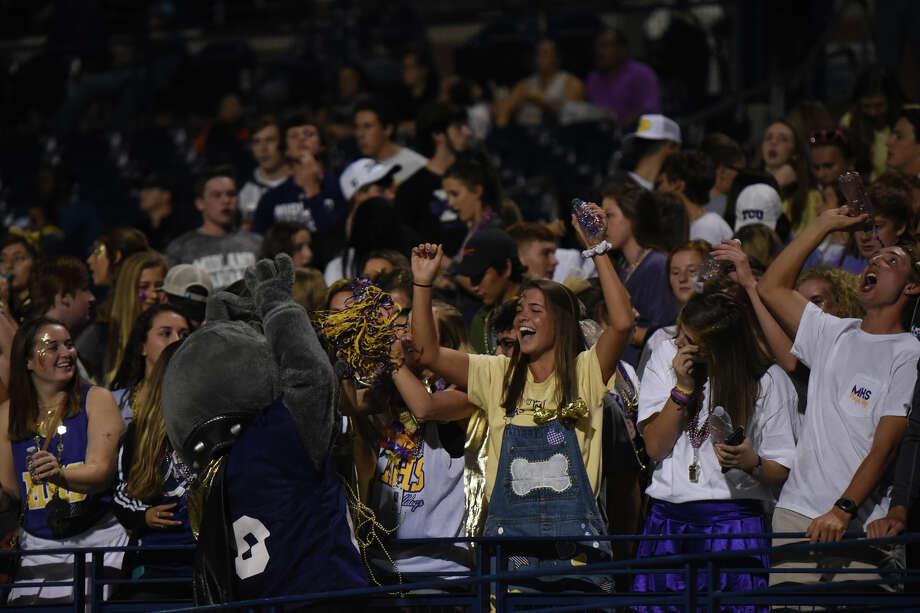 Midland High fans cheer during the game against San Angelo Central on Nov. 3, 2017, at Grande Communications Stadium. James Durbin/Reporter-Telegram Photo: James Durbin