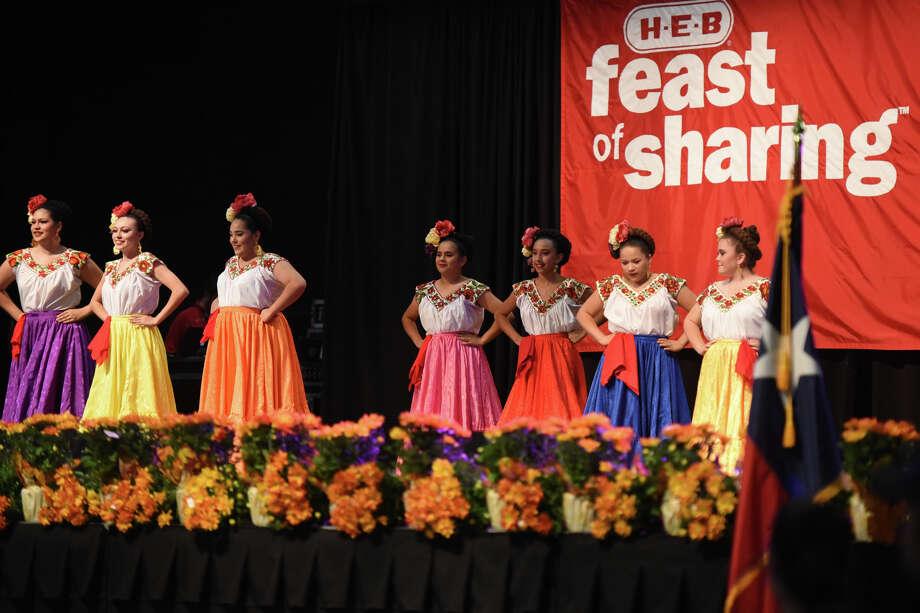 Feast of Sharing hosted by HEB on Nov. 3, 2017, at Horseshoe Pavillion.  James Durbin/Reporter-Telegram Photo: James Durbin