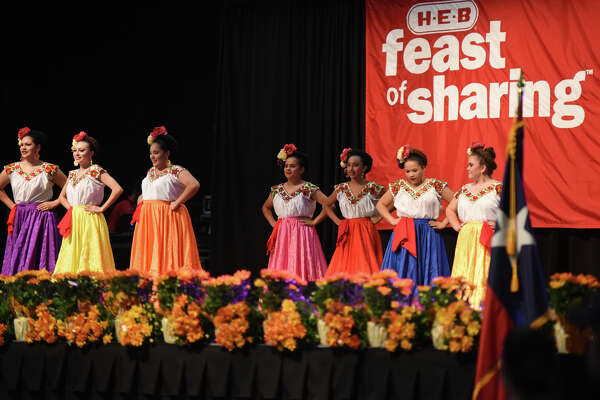 Feast of Sharing hosted by HEB on Nov. 3, 2017, at Horseshoe Pavillion.  James Durbin/Reporter-Telegram