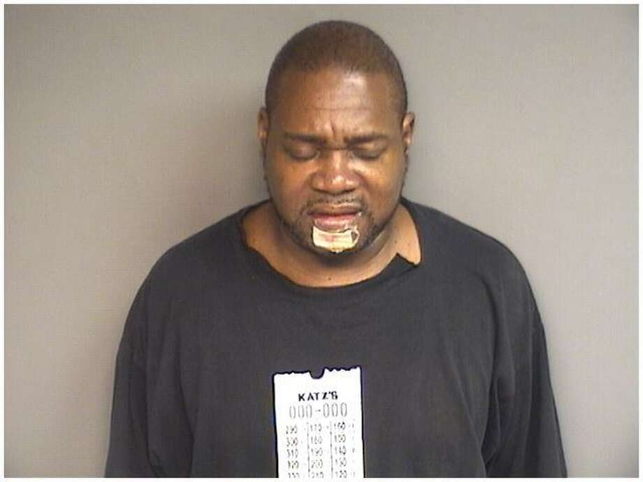 Ecclesiastes Joyner, 53, was charged with leaving the scene of an accident and being in possession of just under three ounces of cocaine on Halloween night. Photo: Stamford Police / Contributed