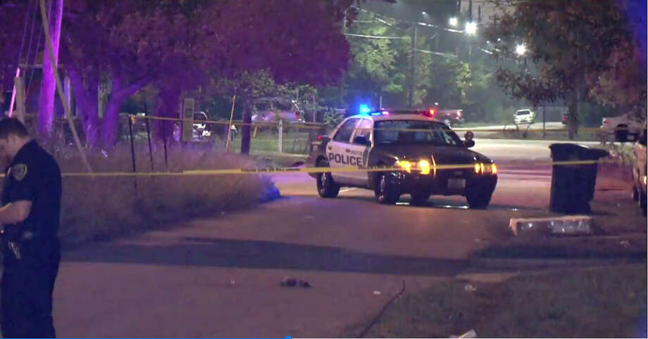 A man died early Saturday morning after being found in the street with a gunshot wound and blood around his stomach, according to the Houston Police Department. Patrol officers were flagged down by some witnesses around 12:30 a.m. who found the elderly man lying on Rebecca Street, according to Mike Barrow with the Houston Police Department. Photo: Metro Video