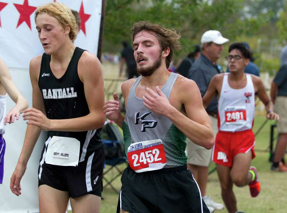 Justin Maynard, of Kingwood Park, competes in the Class 5A boys race during the UIL State Cross Country Championships at Old Settlers Park, Saturday, Nov. 4, 2017, in Round Rock. Photo: Jason Fochtman, Staff Photographer / © 2017 Houston Chronicle