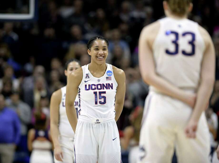UConn's Gabby Williams switched to a vegan diet following her sophomore season. Photo: Associated Press File Photo / AP2017