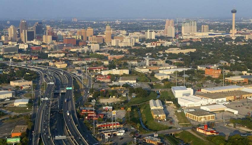 25. San AntonioMinimum wage: $7.25Weekly work hours: 34Average cost of living: $1,074.65 Source:Move.org, U.S. Census Bureau