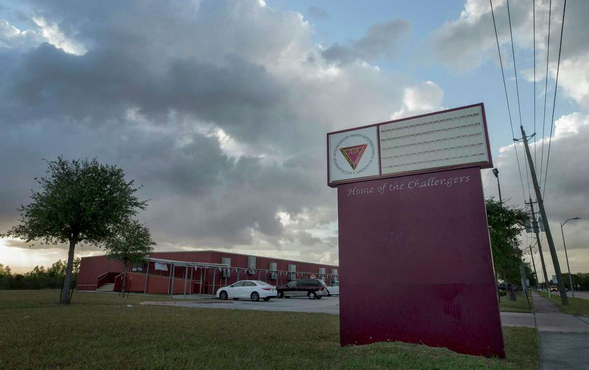 Accelerated Intermediate Academy's campus in Houston opened in 2001 and has produced solid academic results. School officials say they bought the Houston condo for use as an office and storage facility, but charter school experts say the purchase is highly unusual.