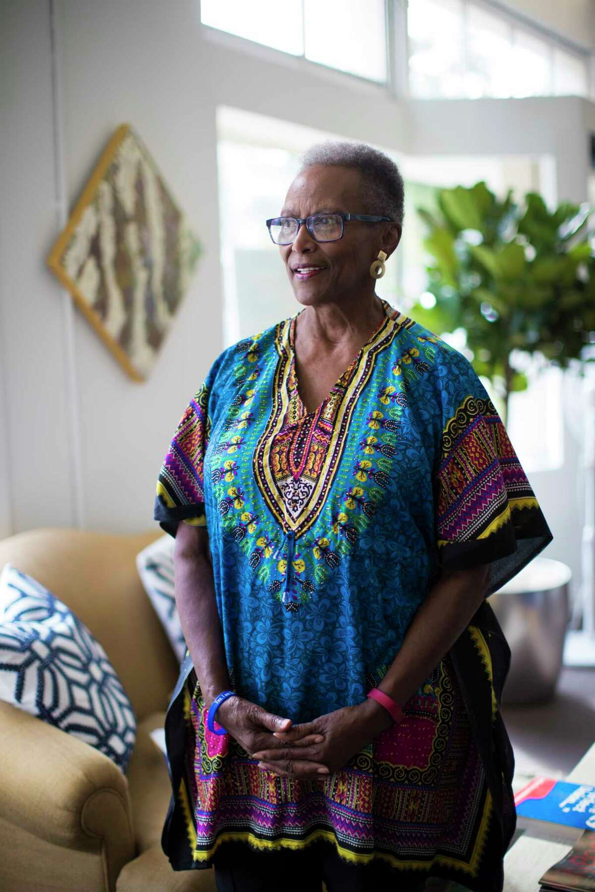 Dee Coleman, attended the '77 National Women's Conference on which about 20,000 people took part. The conference returns to Houston to celebrate the 40th year since the gathering. Saturday, Nov. 4, 2017, in Houston. ( Marie D. De Jesus / Houston Chronicle )
