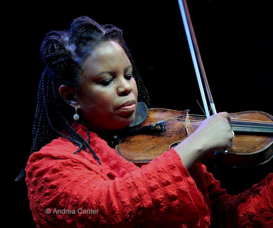 Jazz violinist Regina Carter performs her centennial tribute to Ella Fitzgerald in the Bay Area next week. Photo: Andrea Canter