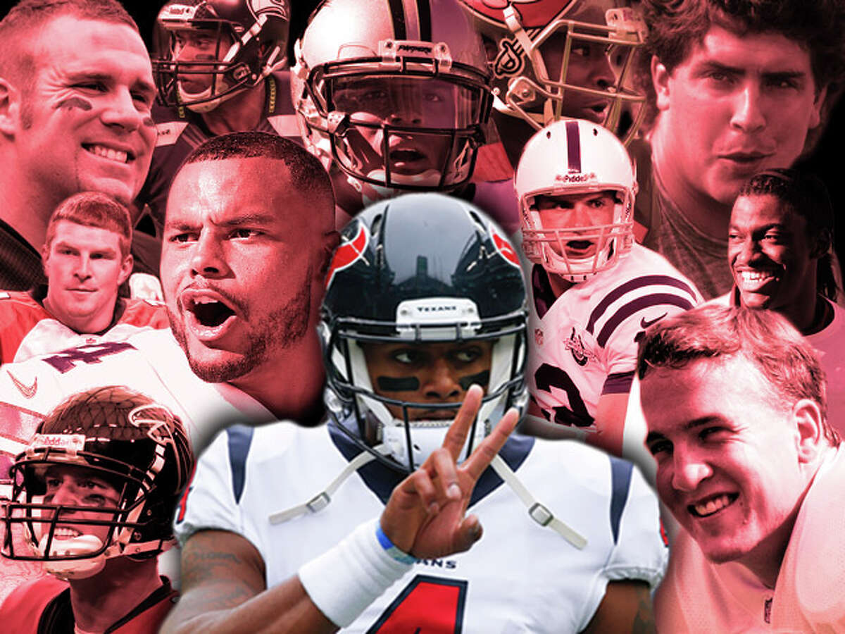 Browse through the photos to see how Deshaun Watson's incomplete rookie season measures up to some of the NFL's best. (Photos by Getty)