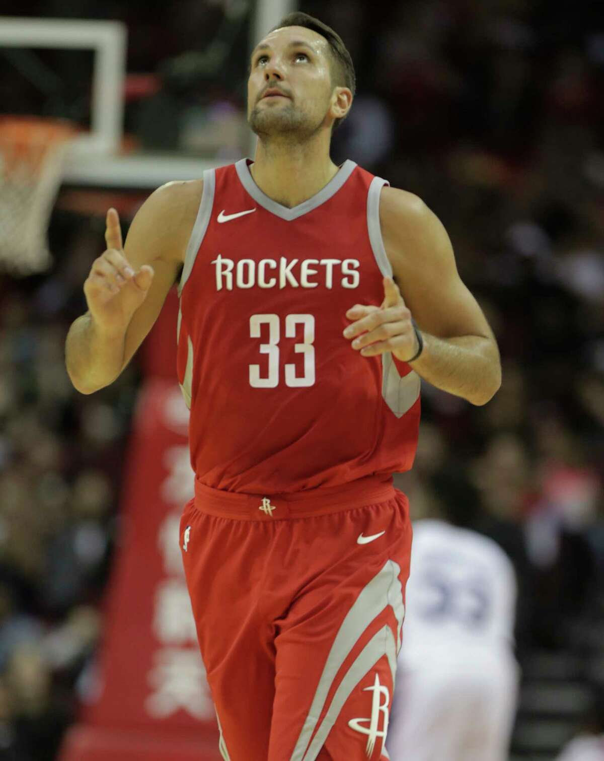 Rockets forward Ryan Anderson came off the bench in Saturday's win over the New York Knicks, and that could be something that happens more often as the season goes along.