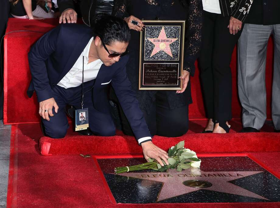 Selena Quintanilla Honored Posthumously With Star On The Hollywood Walk Of Fame HOLLYWOOD, CA - NOVEMBER 03: Musician/Selena's widower Chris Perez attends singer Selena Quintanilla being honored posthumously with a Star on the Hollywood Walk of Fame on November 3, 2017 in Hollywood, California. (Photo by David Livingston/Getty Images) Photo: David Livingston, Getty Images