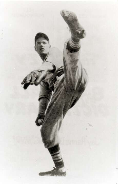 """St. Louis Cardinals star Jay Hanna """"Dizzy"""" Dean started his pitching career as a soldier at Fort Sam Houston, where he played for the Post Laundry team. After leaving the Army in 1929, he played one season for San Antonio's premier amateur team, sponsored by the Public Service Co., an ancestor of City Public Service. Photo: Courtesy"""