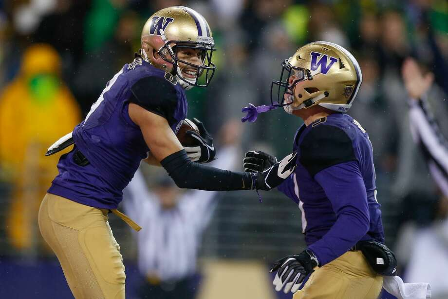 2. Elijah Molden and Myles Bryant are the real dealWith big names like Byron Murphy and Taylor Rapp no longer part of the Dawgs' secondary, Molden and Bryant had big shoes to fill. Through four games, the two have combined for 27 tackles, two interceptions, three passes defended and a sack. The defensive backfield could've been a major liability this season; instead Bryant and Molden have made it a strength. Photo: Otto Greule Jr/Getty Images