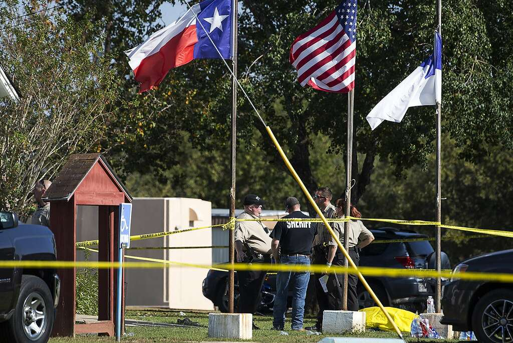 At least 26 killed and 20 injured in a heinous attack in rural Texas Church