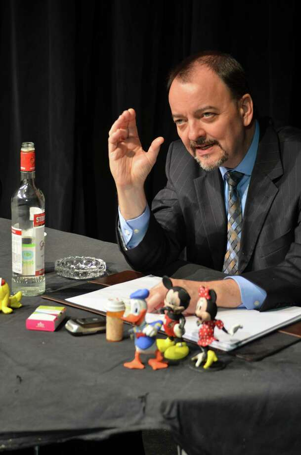 "J. Kevin Smith as Walt Disney in ""A Reading..."" Photo: Courtesy Of NHTC"