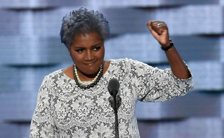 Donna Brazile, then-DNC vice chair, at the Dems' national convention. Photo: SAUL LOEB, AFP/Getty Images