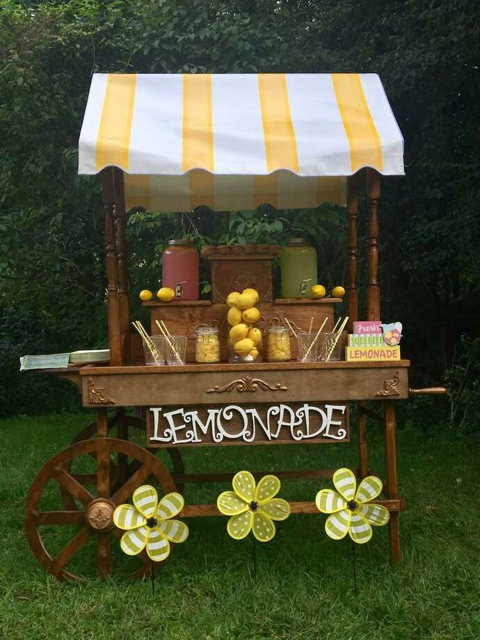 One of the party carts Cathy Langdon has used in her new business. Photo: Cathy Langdon / Contributed